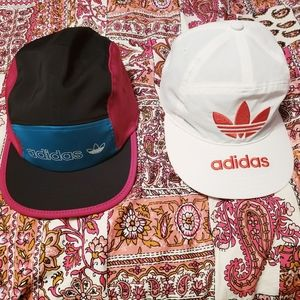 !!!SOLD!!! 2 for 1: Adidas - 5 Panel Logo Caps